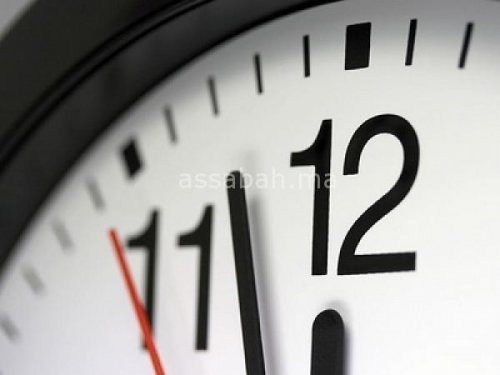 العودة إلى الساعة القانونية في 21 ماي