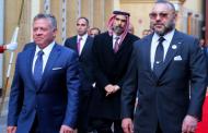 الملك يبعث برقية لعاهل الأردن
