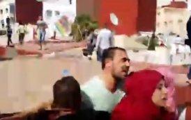 فيديو .. لحظة هروب الزفزافي وسط المواجهات العنيفة مع الأمن