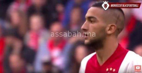 فيديو .. زياش يتألق رفقة أجاكس في الدوري الأوربي