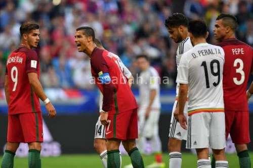 فيديو .. البرتغال يتعادل أمام المكسيك في كأس القارات