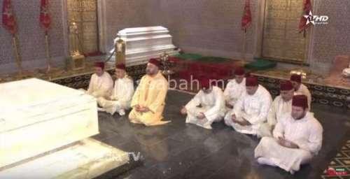 فيديو .. الملك يترحم على روح محمد الخامس الطاهرة