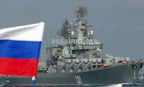 السفن الروسية الحربية تعزز حضورها في المتوسط