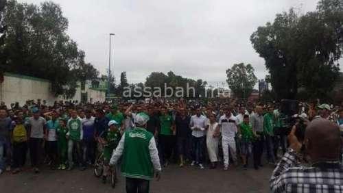 آلاف الرجاويين في وقفة للمطالبة برحيل حسبان