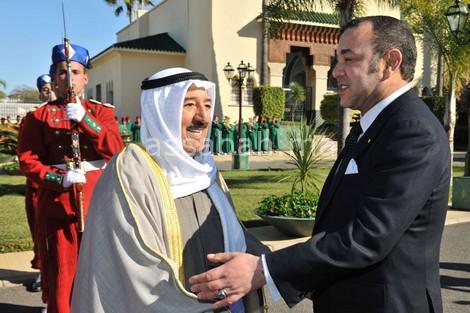 رسالة من الملك إلى أمير الكويت بشأن أزمة الخليج