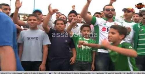 فيديو ..الوقفة الاحتجاجية لجماهير الرجاء على