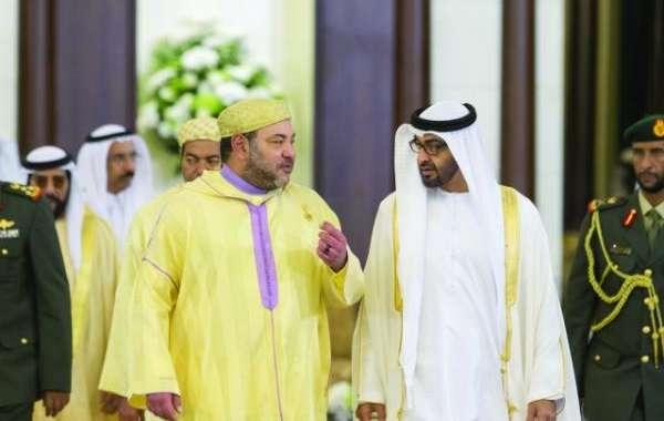 الملك يتلقى رسائل تهنئة من ولي عهد أبوظبي ورئيس الإمارات