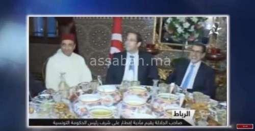 فيديو .. مأدبة إفطار على شرف رئيس حكومة تونس