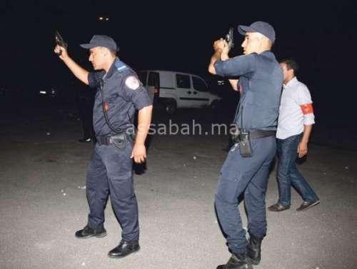 الرصاص لإيقاف جانح هاجم الشرطة