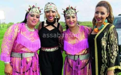 صفاء وهناء في أغنية أمازيغية