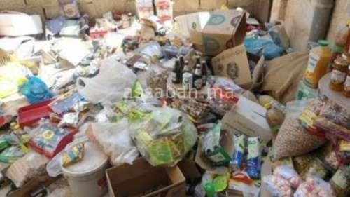 حجز أكثر من 600 طن من المواد الغذائية المهربة بالبيضاء