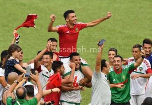 المنتخب الأولمبي ينقذ سمعة جامعة لقجع