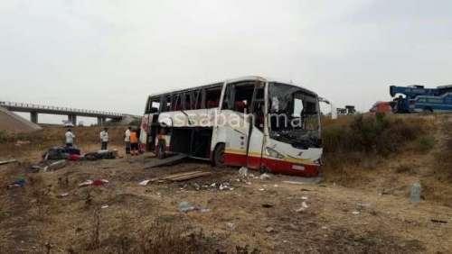 30 مصابا في انقلاب حافلة بآسفي