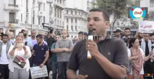 فيديو ...وقفة احتجاجية بالبيضاء بعد التطورات الأخيرة بالأقصى