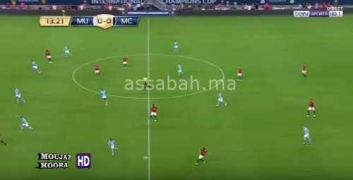 فيديو .. فوز مانشستر يونايتد على مانشستر سيتي وديا