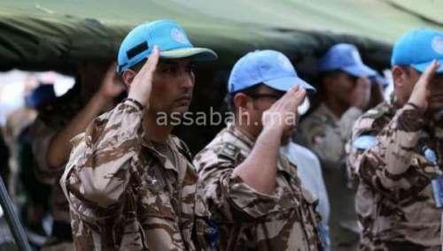 وفد عسكري يزور الجنود المغاربة بإفريقيا الوسطى
