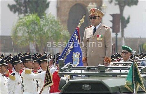 الملك يوجه الأمر اليومي للقوات المسلحة الملكية بمناسبة الذكرى 63 لتأسيسها