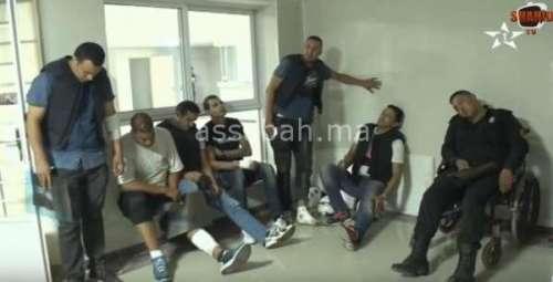 فيديو ..أمنيون يتلقون العلاجات بالمستشفى بعد الاعتداء عليهم بالحسيمة