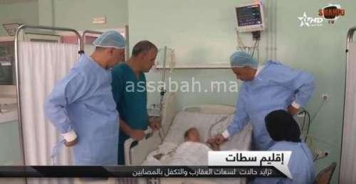 فيديو .. تزايد عدد المصابين بلسعات العقارب بسطات