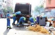 العمال يلهبون أزمة النظافة بالبيضاء