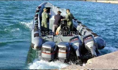 مروحية تنقذ 7 بحارة من الغرق بعد اصطدام مركبين بسواحل الجديدة