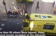 فيديو .. لحظات بعد الهجوم ببرشلونة