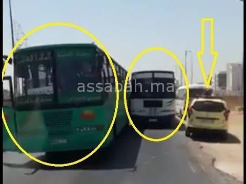 فيديو... حافلات نقل المسافرين خارج القانون