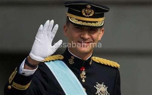 ملك إسبانيا يزور ضحايا هجمات برشلونة