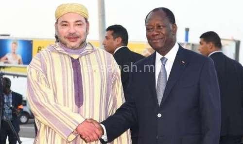 نائب رئيس كوت ديفوار سعيد بزيارة الملك