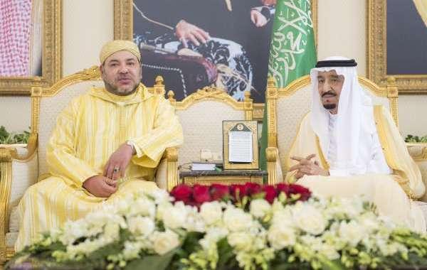 رسالة من الملك إلى عاهل السعودية