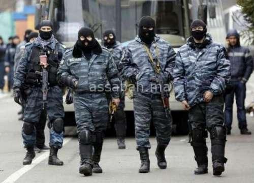 العثور على مخزن ضخم للأسلحة بموسكو