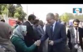 فيديو .. الوردي يفتتح مستشفى جديد بمديونة