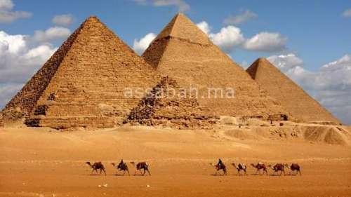 بعد بحث طويل .. اكتشاف كيفية بناء أهرامات مصر