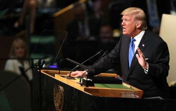 خطاب ناري لترامب في افتتاح الجمعية العمومية للأمم المتحدة