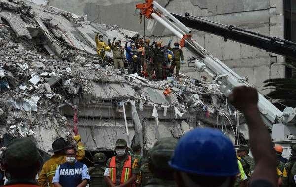 ارتفاع عدد قتلى زلزال المكسيك