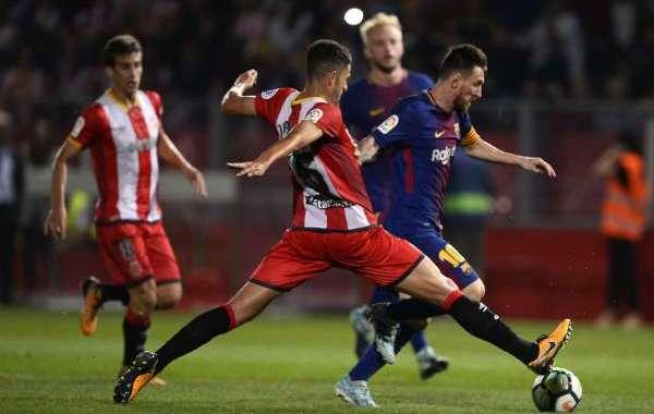 فيديو .. برشلونة يتجاوز جيرونا في الليغا