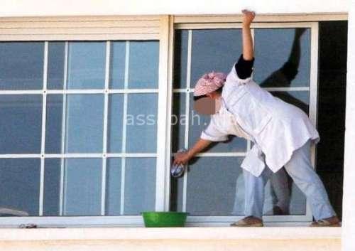 وسائل تنظيف زجاج النوافذ