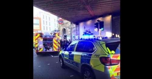 فيديو .. أولى صور انفجار لندن صباح اليوم