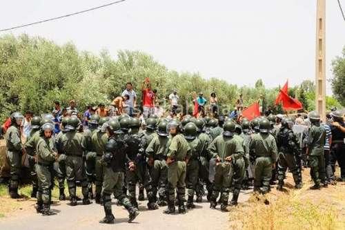 مواجهات دامية مع قوات الأمن ببني ملال
