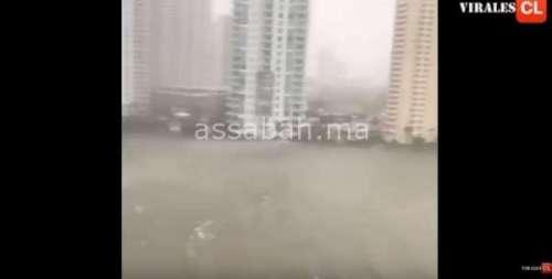 فيديو مخيف .. هكذا دمر إعصار