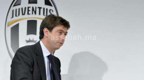 الاتحاد الإيطالي يوقف رئيس جوفنتوس