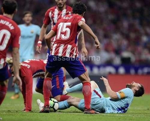 فيديو .. تعادل برشلونة وأتلتيكو مدريد المثير