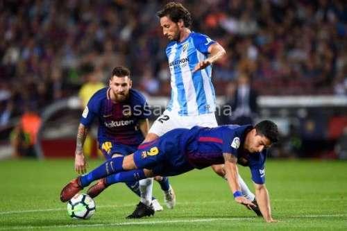فيديو .. فوز برشلونة على ملقا في الليغا