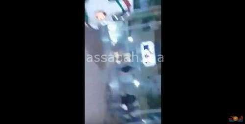 فيديو .. مطاردة هوليودية لمشرمل مسلح بالبيضاء