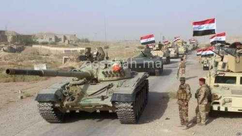 الحرب تندلع بين جيش العراق وقوات كردية