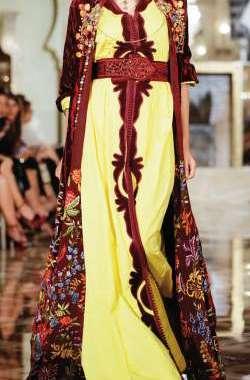 موضة وماكياج: معرض الأزياء الشرقية بمراكش