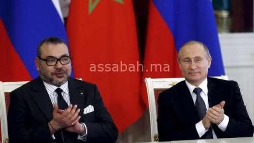 رسالة من الملك إلى بوتين