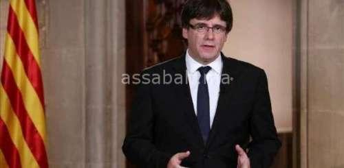 مدريد تمنح مهلة ثانية لرئيس كاتالونيا للتنازل عن الاستقلال