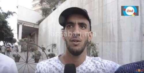 فيديو .. الجماهير الجزائرية سعيدة وسط البيضاء وتحيي المغاربة