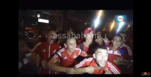 فيديو .. جانب من احتفالات جماهير الوداد بنهائي الأبطال